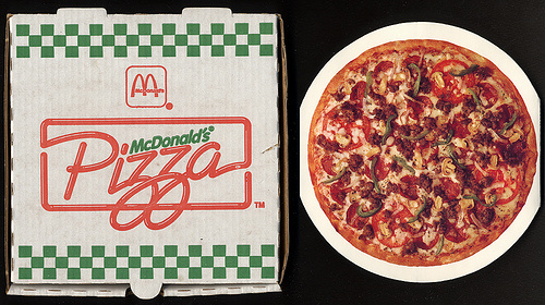 Pizza McDonalds
