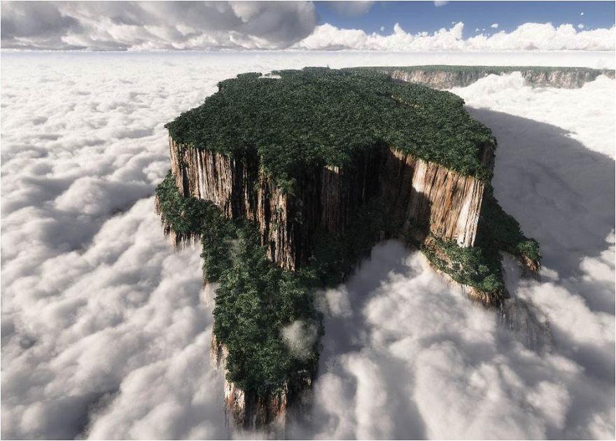 Muntele Roraima - Venezuela