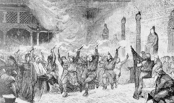 Fetele vikingi erau casatorite la varsta de 12 ani.