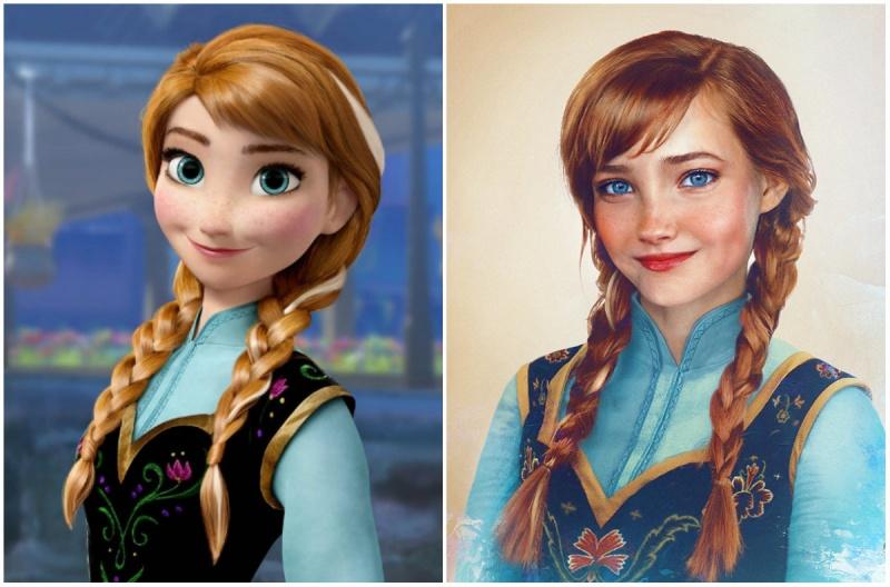 Anna, Frozen