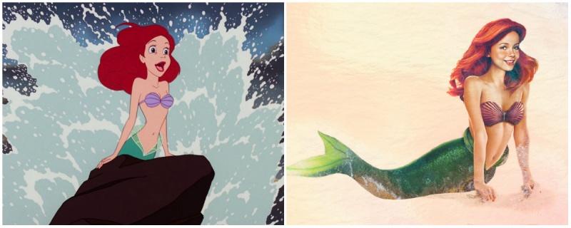 Ariel, Mica Sirena