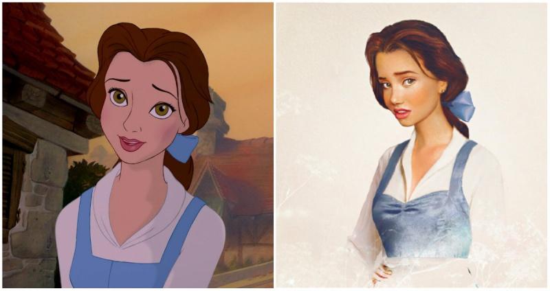 Belle, Frumoasa si Bestia