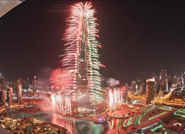 cele mai fenomenale spectacole de artificii din lume burj khalifa