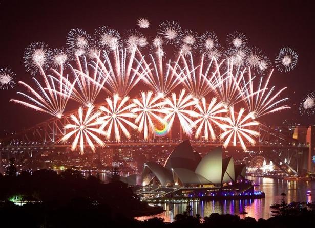 cele mai fenomenale spectacole de artificii din lume sydney australia