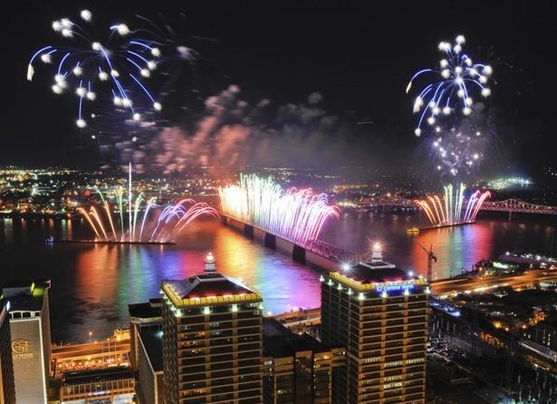 cele mai fenomenale spectacole de artificii din lume tunet deasupra orasului louisville