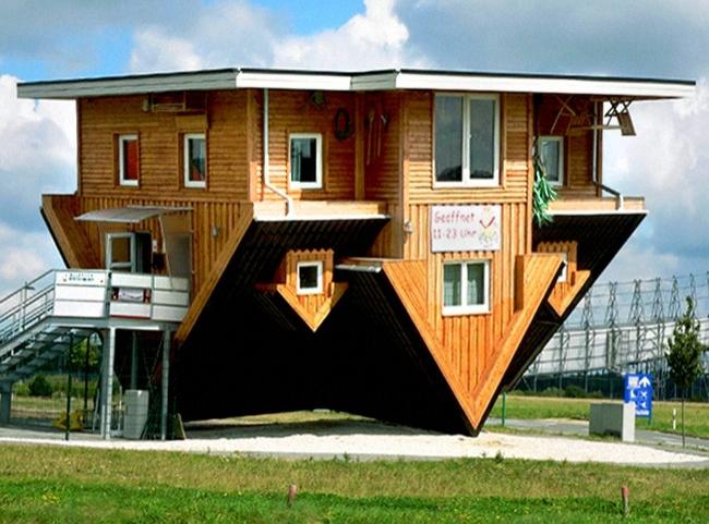 12 locuinte neobisnuite casa cu susul in jos germania