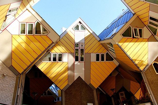 12 locuinte neobisnuite casele cubice din rotterdam netherlands