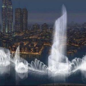 Burj Khalifa consum de apa