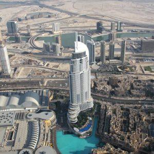 Turnul Burj Khalifa inaltime