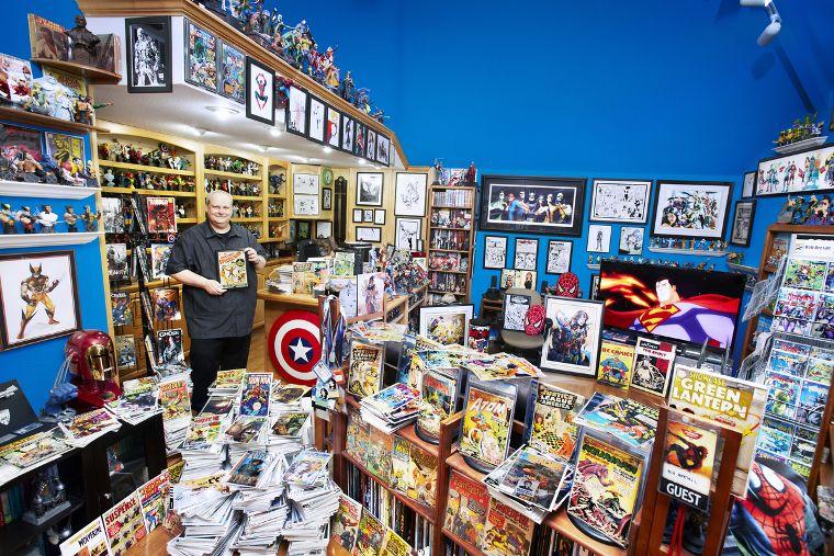 cea mai mare colectie de benzi desenate din lume