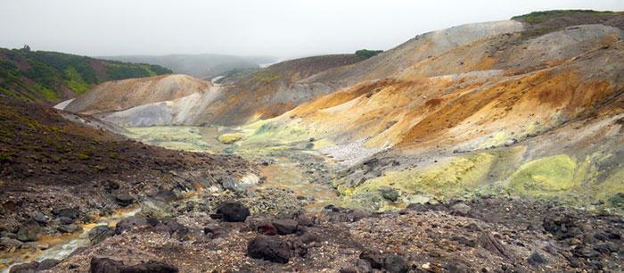 valea mortii din Kamchatka