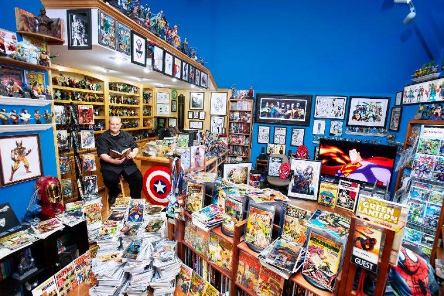 Cea mai mare colectie de benzi desenate
