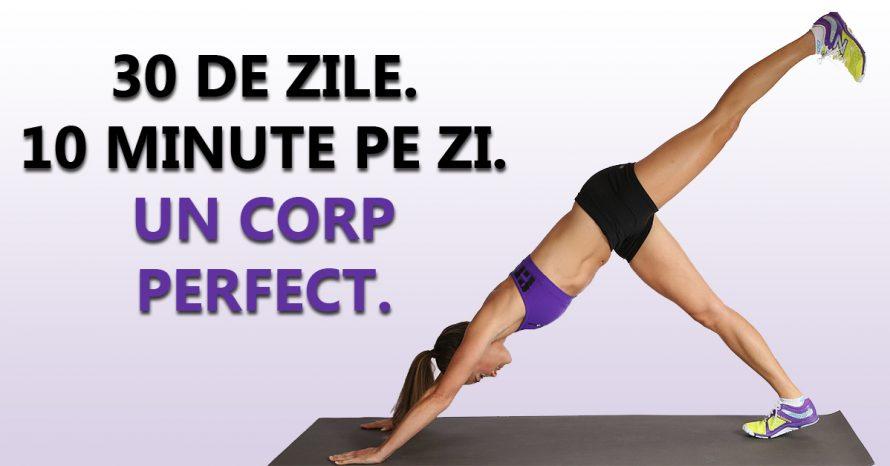 Sapte exercitii simple care va vor transforma corpul in doar 4 saptamani