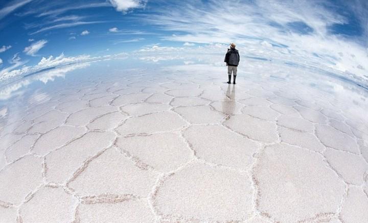 Cel mai plat loc de pe Terra