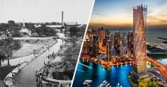 Fotografii uimitoare care arata cat de repede s-a schimbat Dubai in 60 de ani