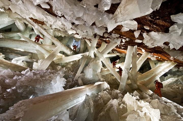 Pestera cristalelor gigantice din Naica