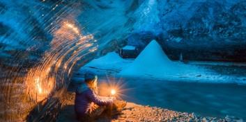 Tunelul de gheaţă albastră