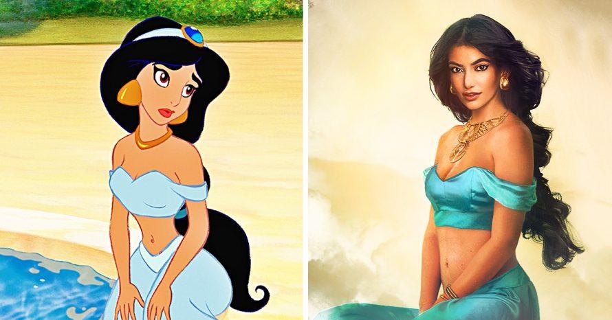 Cum ar arata printesele Disney in realitate