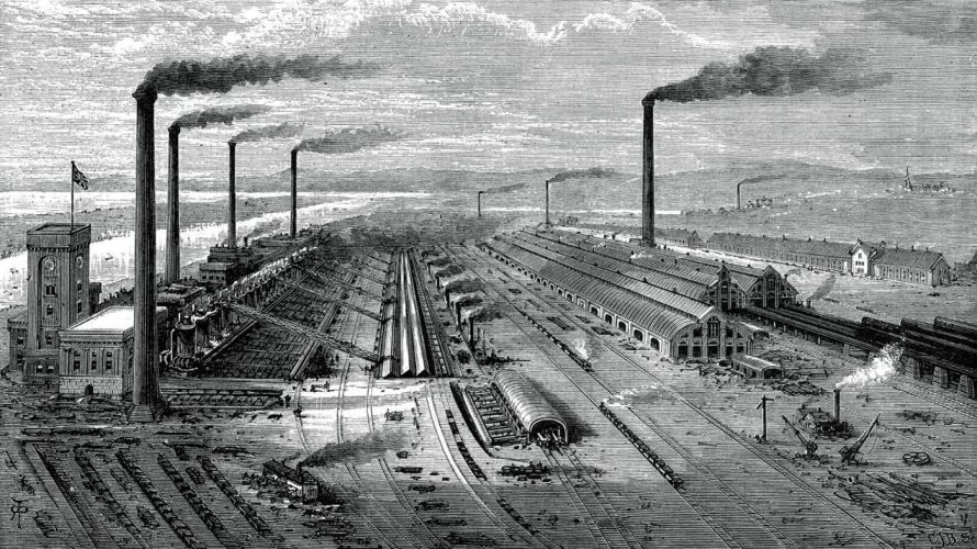 Nasterea industrializarii
