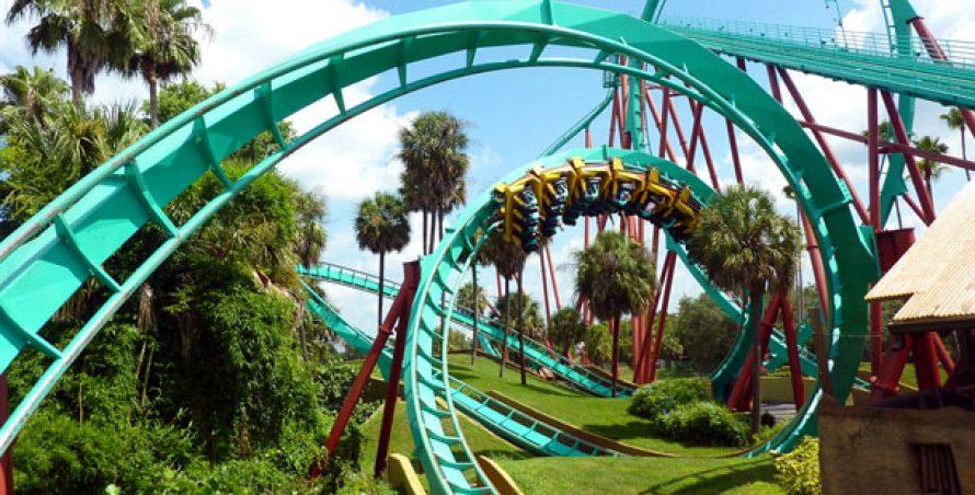 25 cele mai vizitate parcuri de distractie din lume
