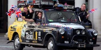 Cel mai lung drum făcut cu taxiul